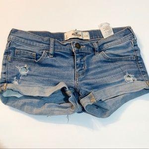 hollister jean shirts